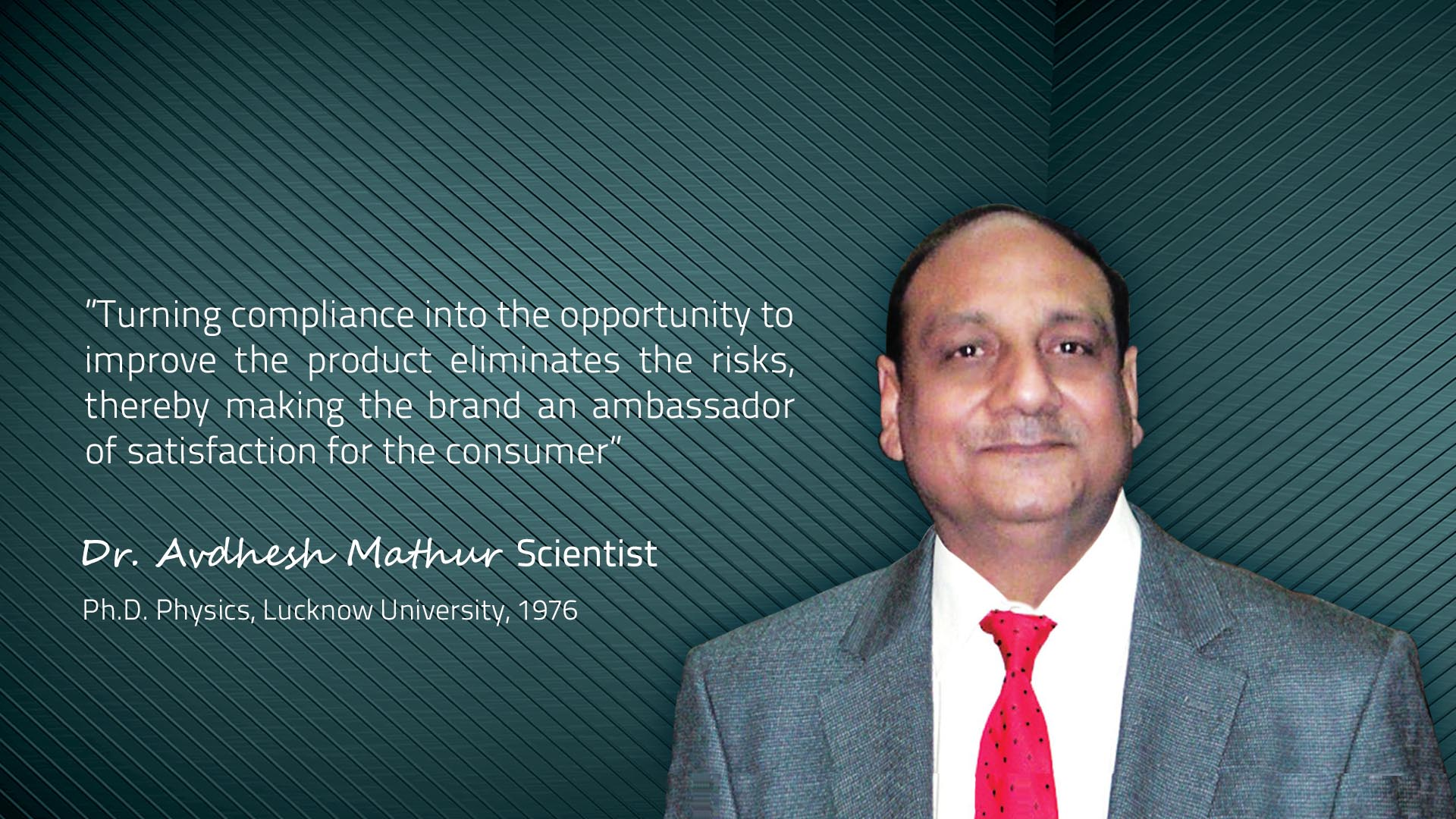 Dr. Avdhesh Mathur Scientist | The Mobile Association