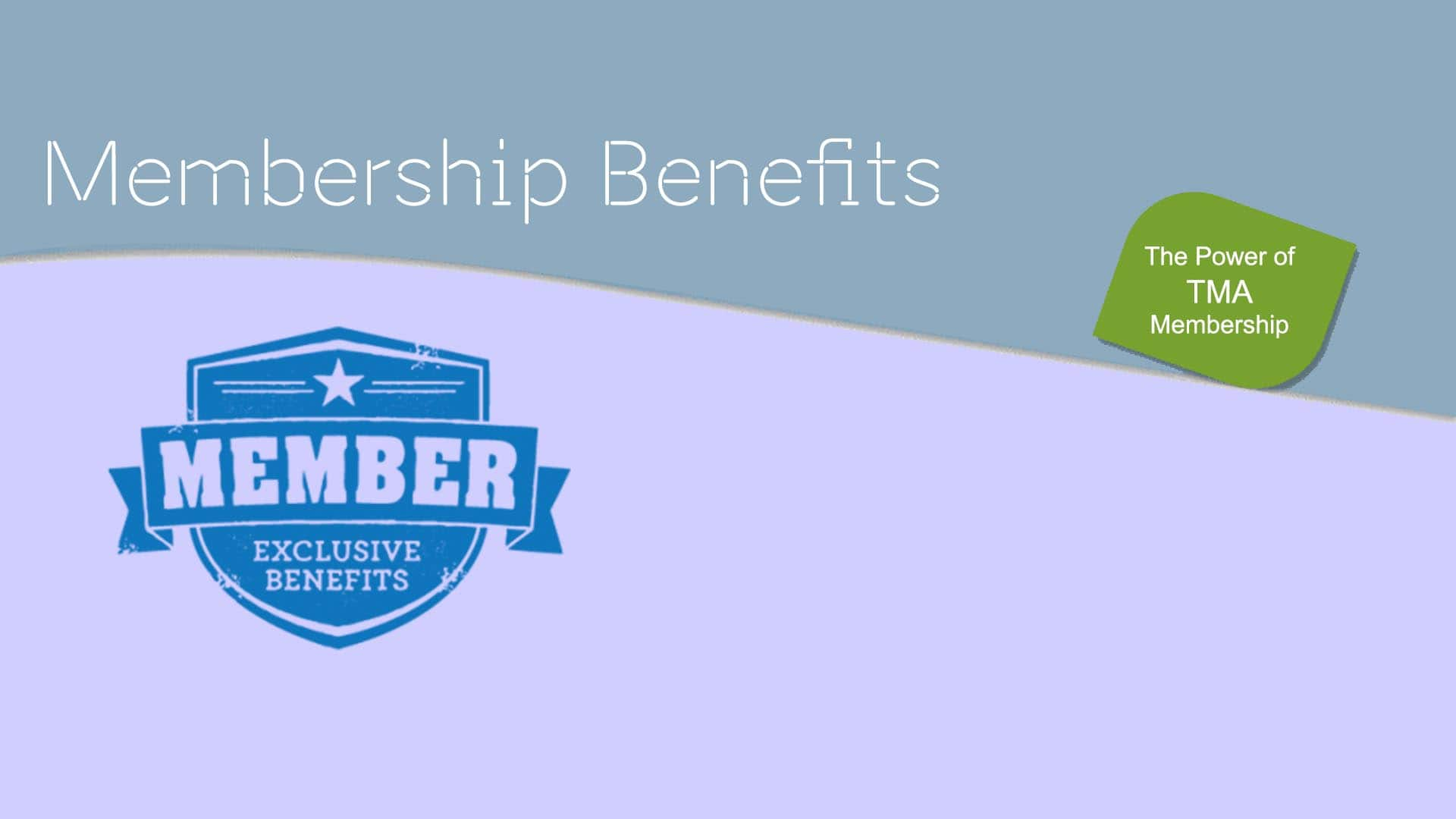Membership Benefits of The Mobile Association