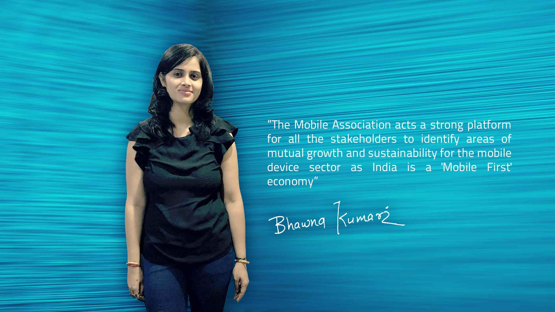 Bhawna Kumari President of The Mobile Association